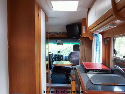 r novation de mon camping car pilote ann e 2000 2013 sera l 39 ann e de tous les ennuis sur le. Black Bedroom Furniture Sets. Home Design Ideas