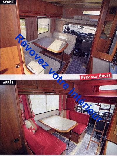 Sehr RÉNOVER CAMPING-CAR: Rénover et améliorer votre intérieur camping  KJ03