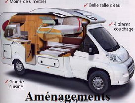 l 39 am nagement int rieur du camping car. Black Bedroom Furniture Sets. Home Design Ideas