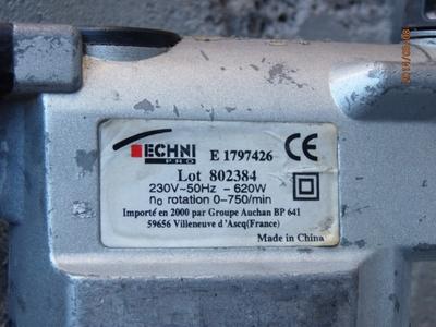 Marteau perforateur sds plus 850 w for Prix d un perforateur